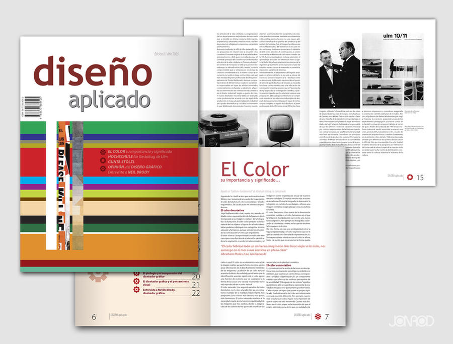 Aplied Desing Magazine by jonrod