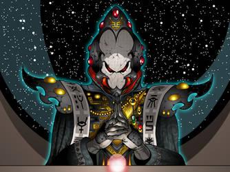 Eldar Warlock Meditation by The-First-Magelord