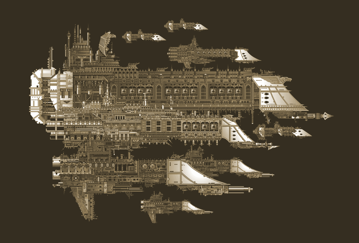 [GALERIE] Artworks - Page 3 Imperial_Fleet_by_The_First_Magelord