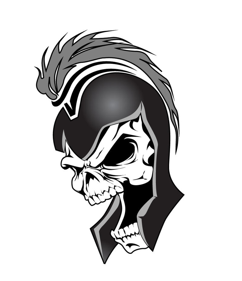 Shane's Skull Tattoo by The-First-Magelord on DeviantArt