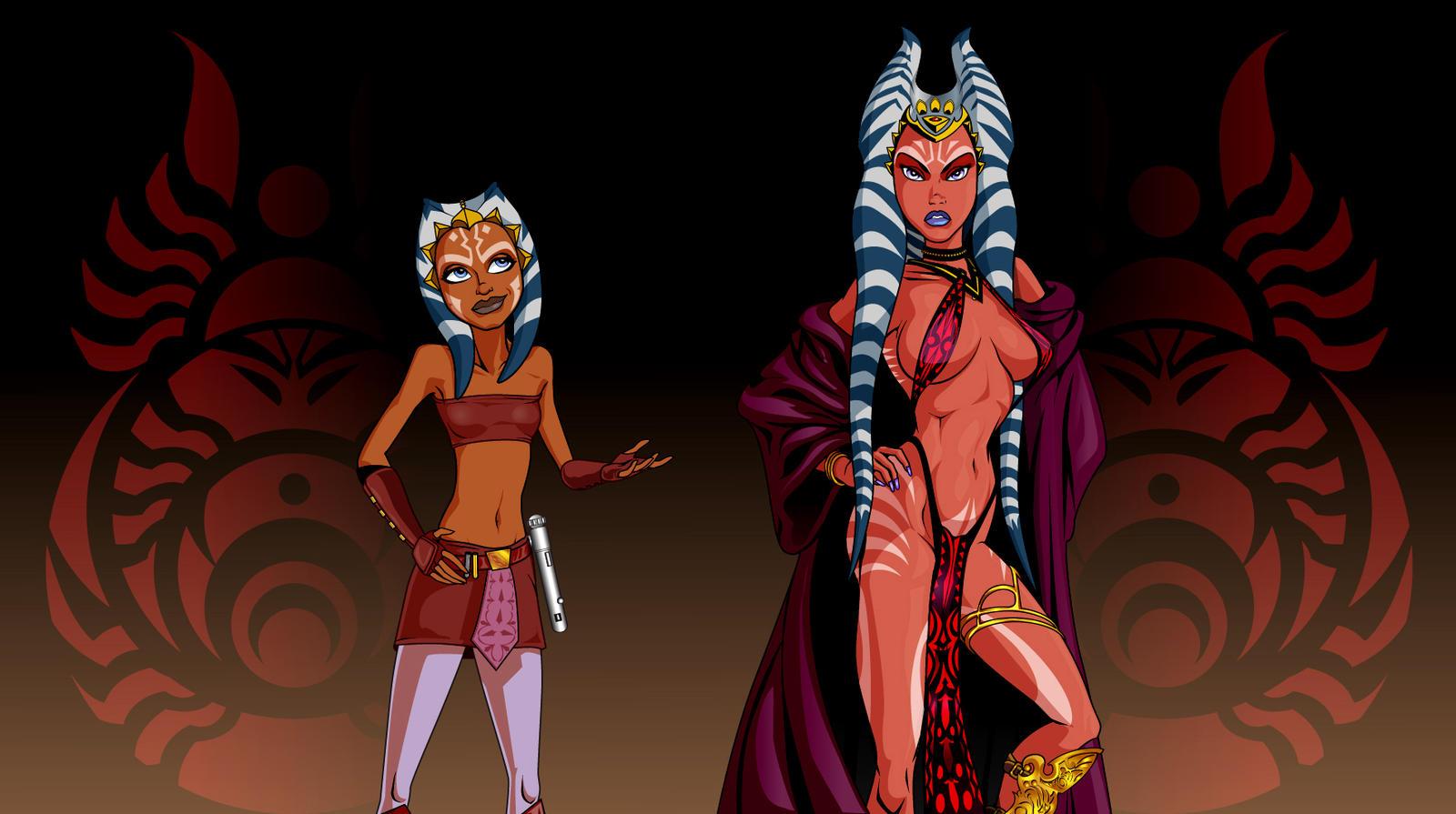Star wars ahsoka tano having lesbian sex  softcore movies