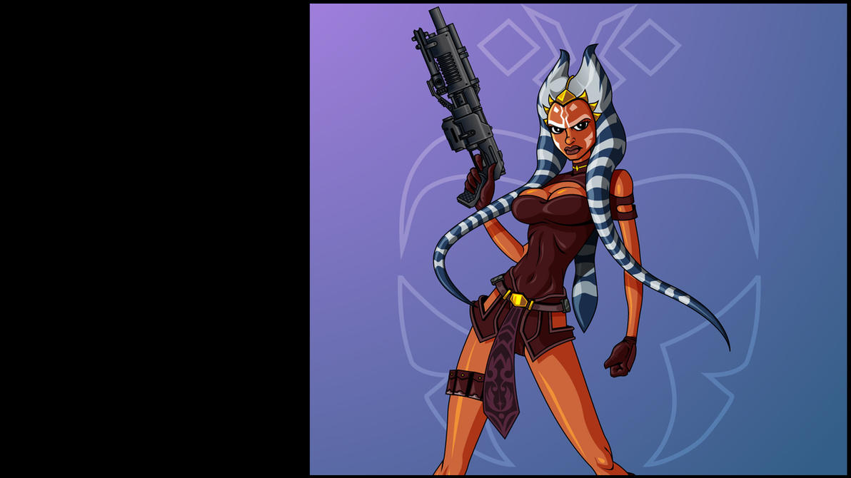 Ahsoka Wallpaper 2 by The-First-Magelord