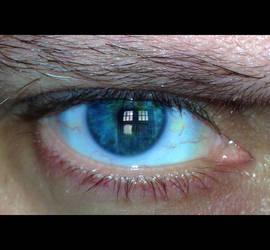 Something in my eye...