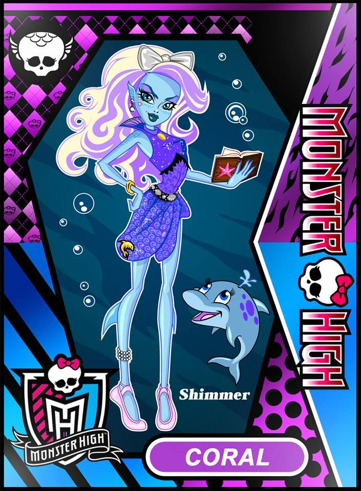 Monster High OC Coral By The First Magelord On DeviantArt