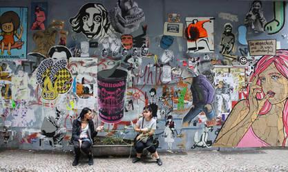 Friedrichshain Berlin by orticanoodles