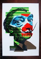 Portrait of Salvador Dali 07 by orticanoodles