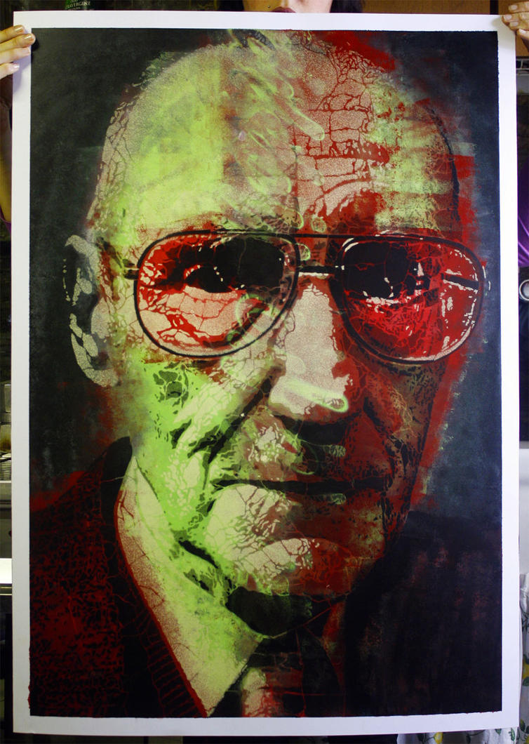 01 William Burroughs by orticanoodles