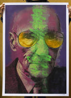 05 William Burroughs by orticanoodles