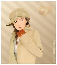 Ayumi Hamasaki by pinkly