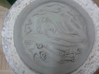 Bassorilievo Mermaid Inspired (WIP 2) by MyDigitalArt