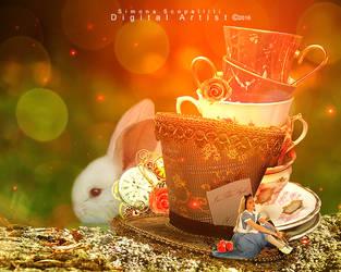 Alice in Wonderland by MyDigitalArt