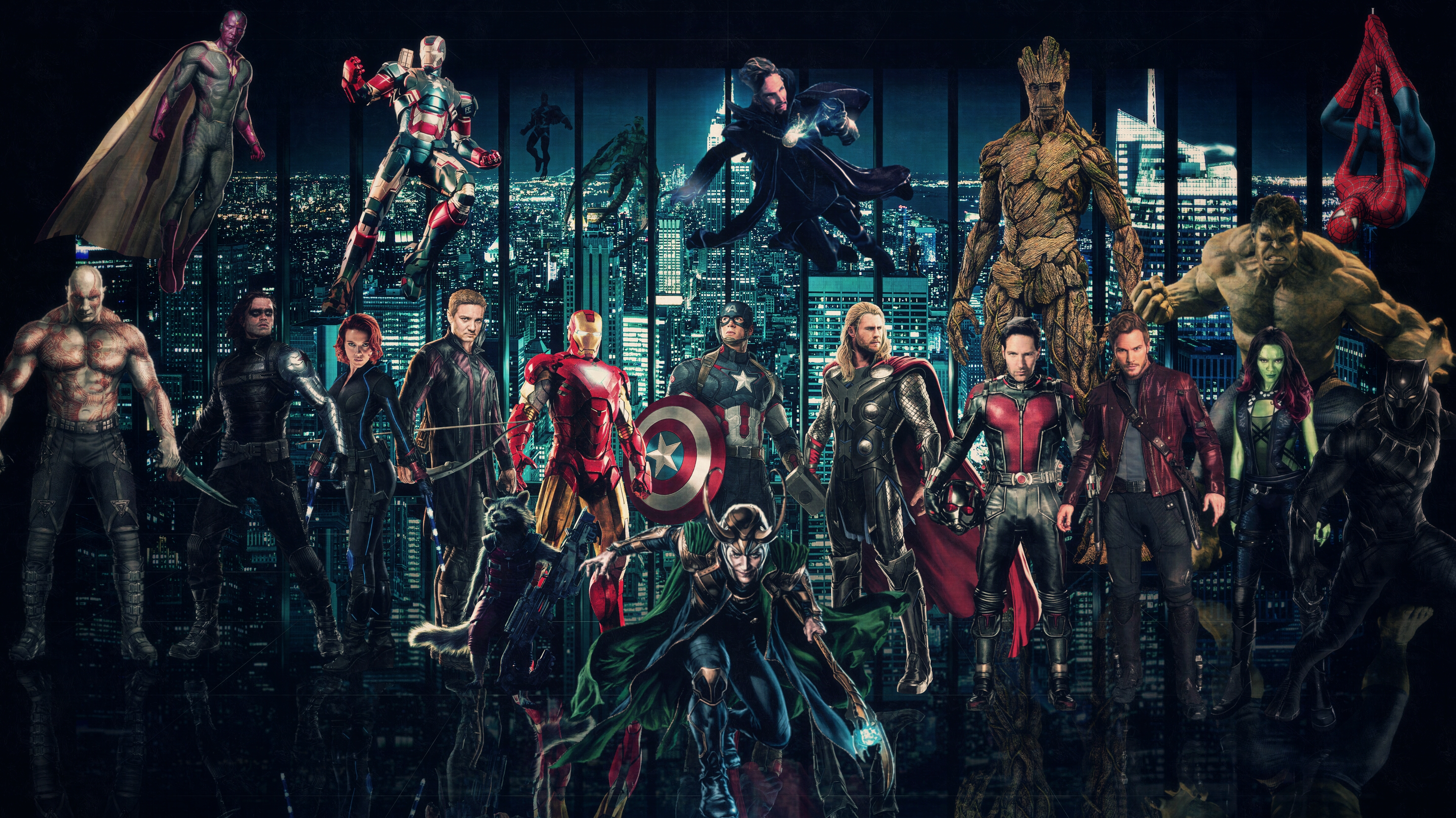 Marvel Cinematic Universe Wallpaper 2 By