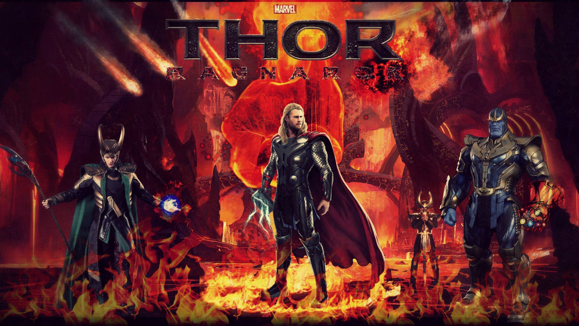 Thor ragnarok hd wallpaper by theincrediblejake on deviantart - Ragnarok wallpaper ...