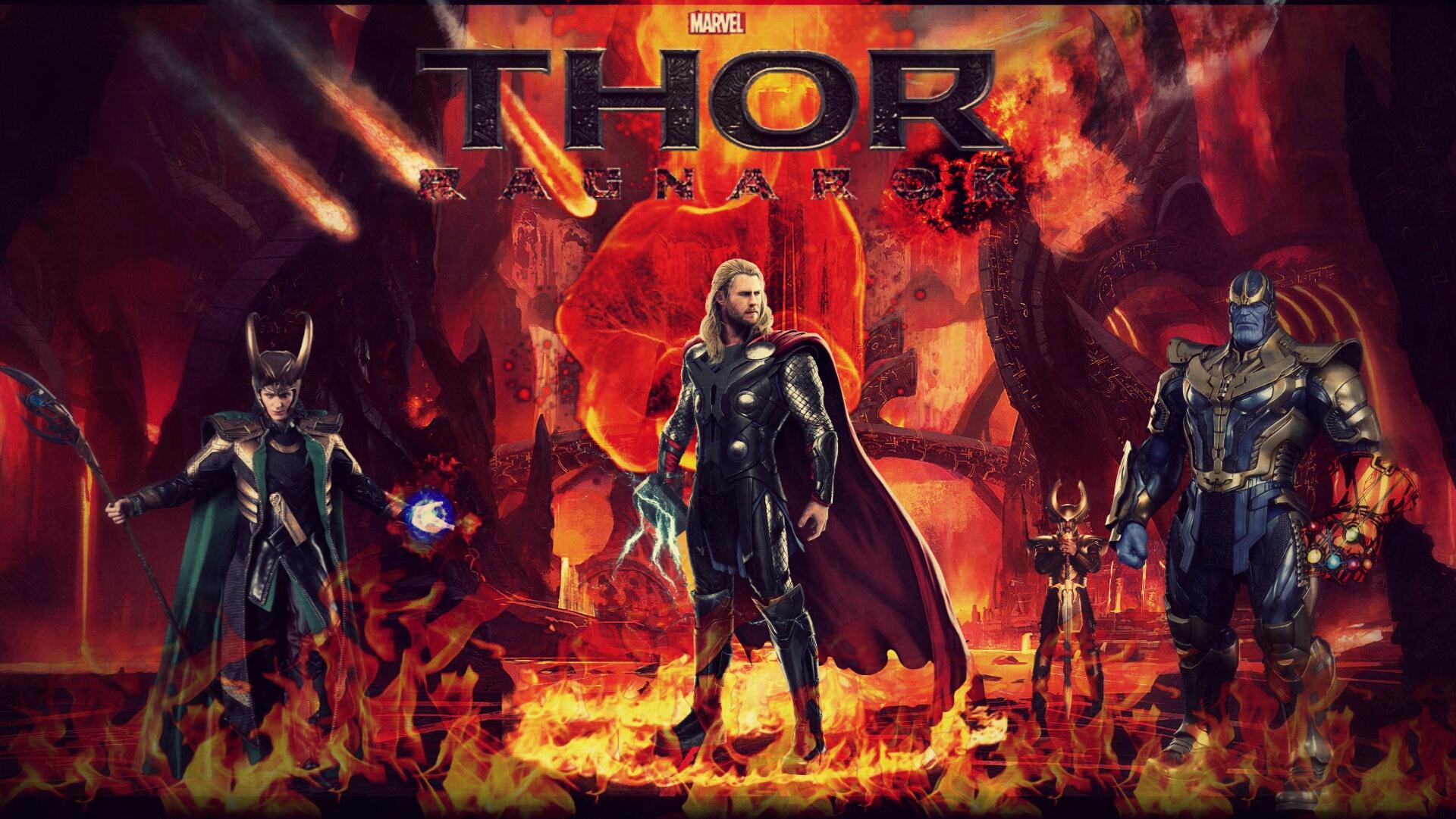 Thor ragnarok hd wallpaper by theincrediblejake on deviantart - Thor ragnarok hd wallpapers download ...