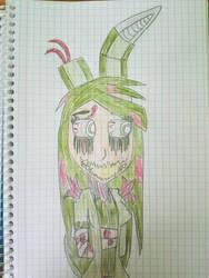 Fnaf3: female Springtrap by AgdaPL