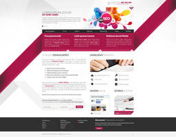 Digital Agency website by WildDawid