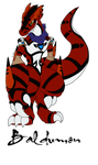 Baldumon appears! The Guilmon Hunter attacks!! by CorePlaysMCNMore