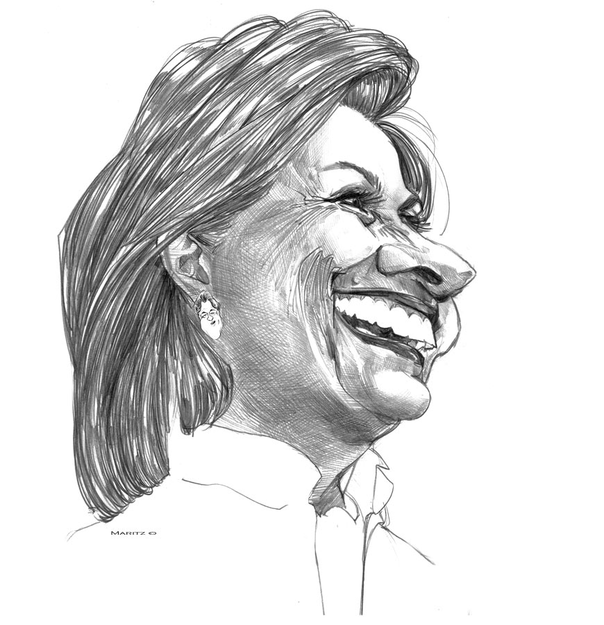 Hilary Clinton by maritze