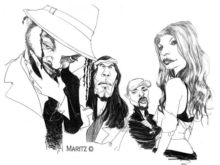Black Eyed Peas by maritze