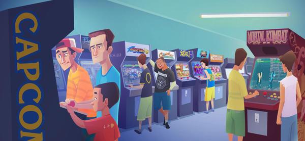 Arcades by mei13