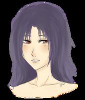 Purple Hair by drive-a-leaf