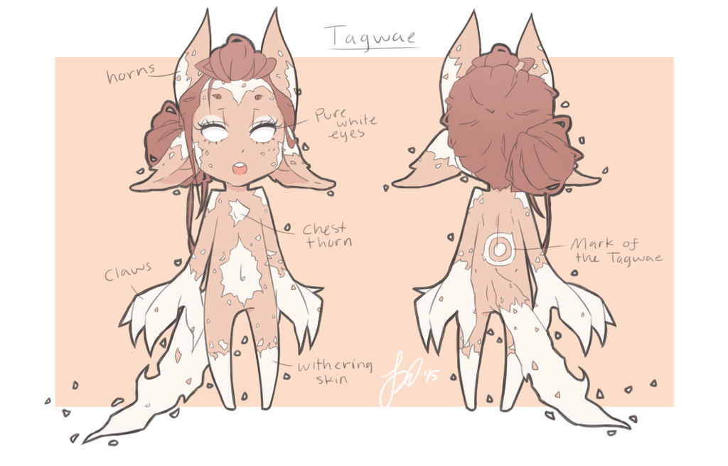 Tagwae - Closed Species by drive-a-leaf