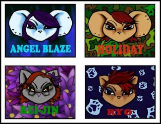 Anthrocon Badges by Angel-Blaze