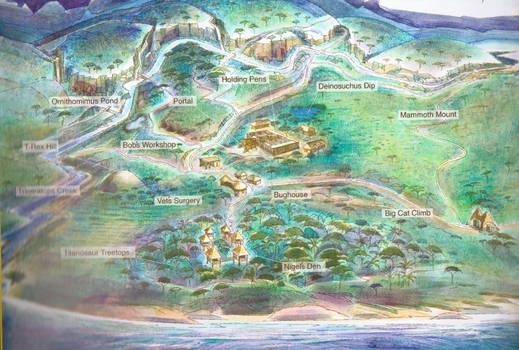 Prehistoric Park Map