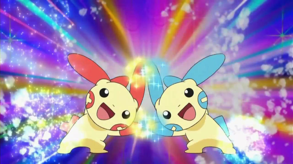 Plusle And Minun Wallpaper Plusle and Minun's Per...