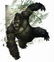 King Kong by WillDinoMaster55