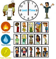 TOTAL DRAMA LOST IN TIME: 18 Contestants