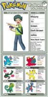 Pokemon Quest: Khoury
