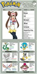 Pokemon Quest: Rosa by WillDinoMaster55