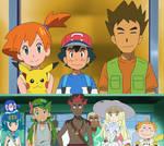 Ash's Classmates meets Misty and Brock