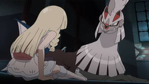 Lillie and Silvally by WillDinoMaster55