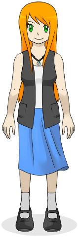 My Pokemon OC 2: Emily (Kanto to Hoenn Outfit)