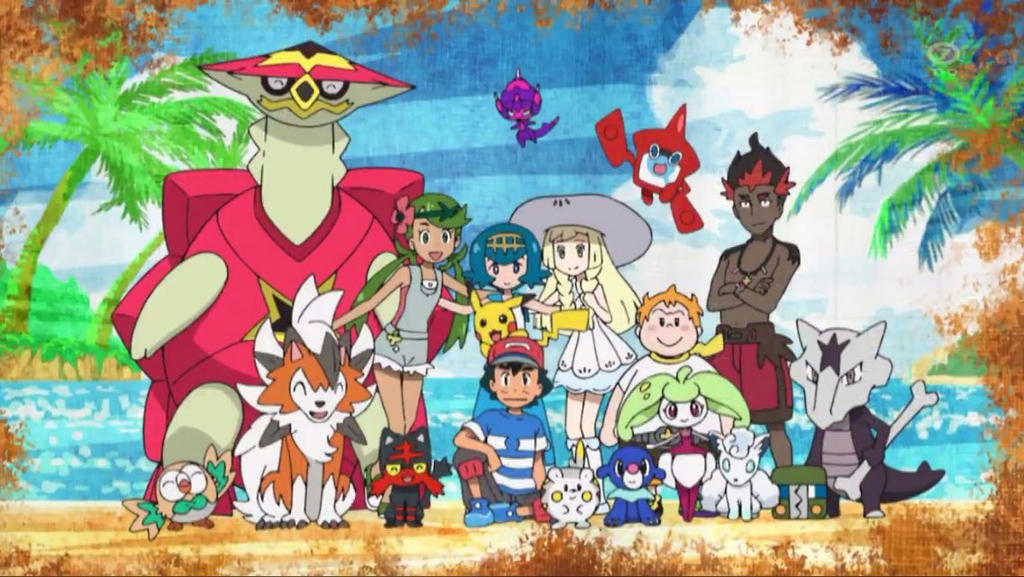 Ash and His Alola Friends (Ending 2) by WillDinoMaster55 ...