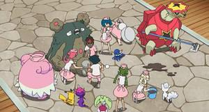 The Gang Helps Team Skull Grunt's Garbodor