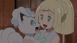 Lillie and Snowy Reunited Again