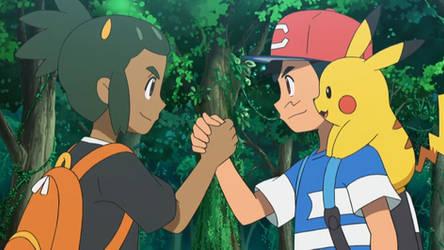Ash's New Rival, Hau by WillDinoMaster55