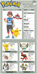 Trainer Profile: Ash Ketchum by WillDinoMaster55