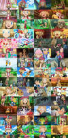 Serena and Amourshipping Collage