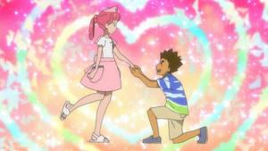 Brock crushes Nurse Joy from Alola
