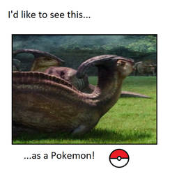 I'd like to see a Parasaurolophus as a Pokemon by WillDinoMaster55
