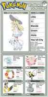 Trainer Profile: Lillie (Mateo2004)