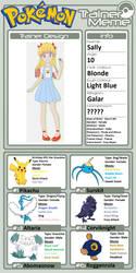 Trainer Profile: Sally (PopCultureCorn) by WillDinoMaster55