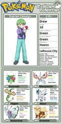 Trainer Profile: Drew by WillDinoMaster55