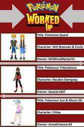 WillDinoMaster55's Pokemon Worked Up (2) by WillDinoMaster55