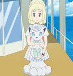 Lillie with her Z-Power Form again
