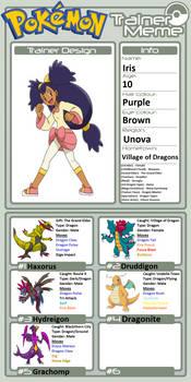 Trainer Profile: Iris (Animedalek1)